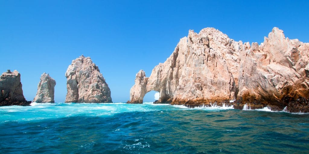 Los Arcos (the Arch) at Lands End at Cabo San Lucas Baja Mexico